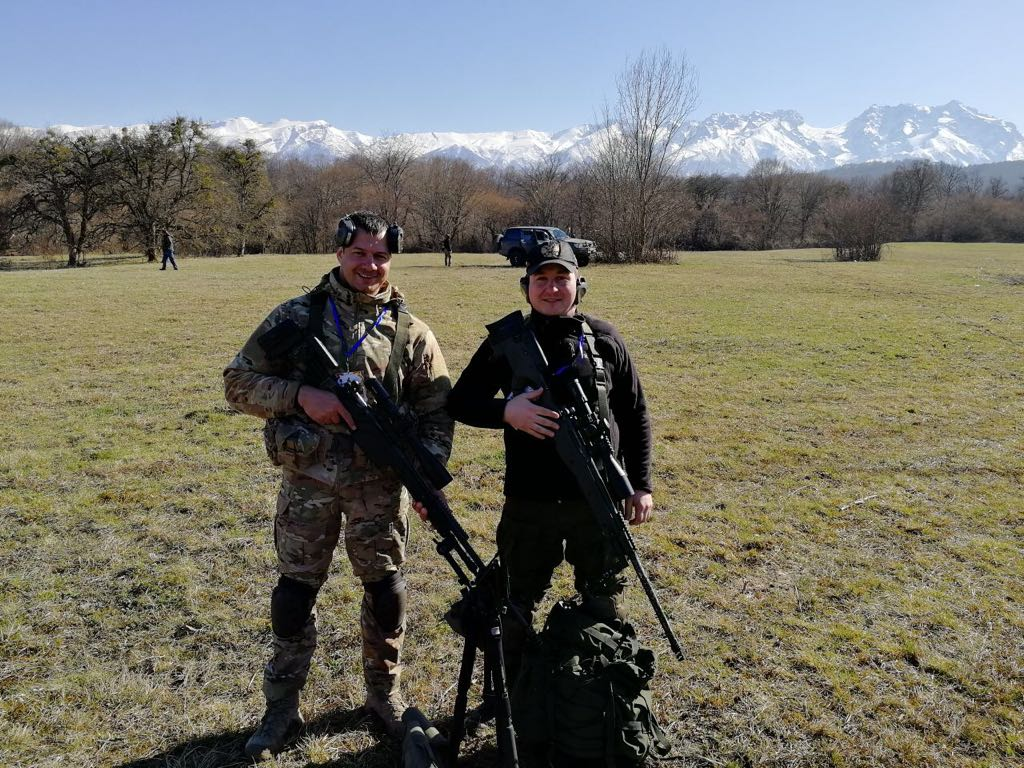 Турнир по снайперской стрельбе памяти майора С.И Чернышова.   / Инфратех (Infratech)